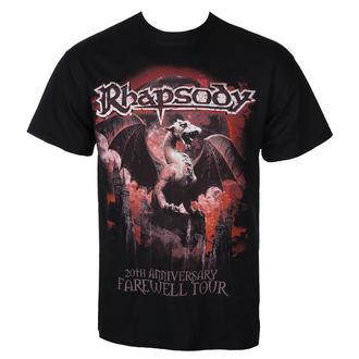 Muška metal majica Rhapsody - 20TH ANNIVERSARY - RAZAMATAZ, RAZAMATAZ, Rhapsody