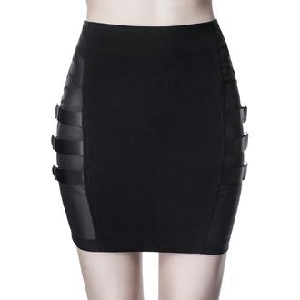 Ženska suknja KILLSTAR - Trax Mini - CRNA - KSRA001637