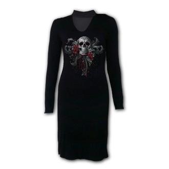 Ženska haljina SPIRAL - SKULL ROSES, SPIRAL