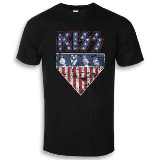 Muška metal majica Kiss - Stars & Stripes - HYBRIS, HYBRIS, Kiss