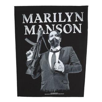 Velika zakrpa Marilyn Manson - Machine Gun - RAZAMATAZ - BP1099