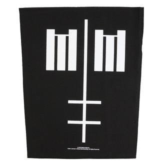 Velika Zakrpa Marilyn Manson - Cross Logo - RAZAMATAZ, RAZAMATAZ, Marilyn Manson