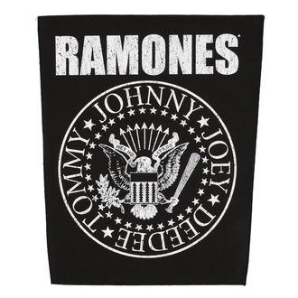 Zakrpa velika RAMONES - CLASSIC SEAL - RAZAMATAZ, RAZAMATAZ, Ramones