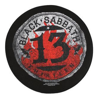 Zakrpa velika BLACK SABBATH - 13 CIRCULAR - RAZAMATAZ, RAZAMATAZ, Black Sabbath