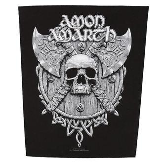 Zakrpa veliki AMON AMARTH - SKULL AND AXES - RAZAMATAZ, RAZAMATAZ, Amon Amarth