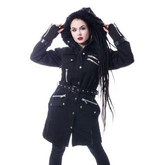 Ženski kaput Chemical Black - VERSE - CRNI, CHEMICAL BLACK