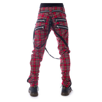 Muške hlače VIXXSIN - VINCENT - RED TARTAN, VIXXSIN