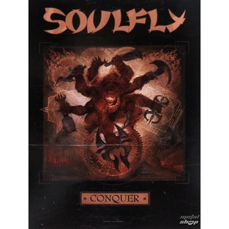 Zastava Soulfly 'Conquer 1', HEART ROCK, Soulfly