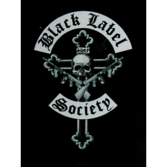 zastava Crno Label Society - Crucifix, HEART ROCK, Black Label Society