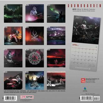 Kalendar za godinu 2019. SOUNDGARDEN, NNM, Soundgarden
