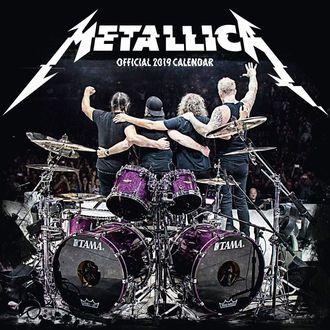 Kalendar za 2019. - METALLICA, Metallica