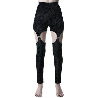 Ženske hlače (tajice) KILLSTAR - Nina - BLACK, KILLSTAR