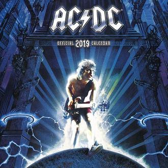 Kalendar za godinu 2019. AC / DC, NNM, AC-DC