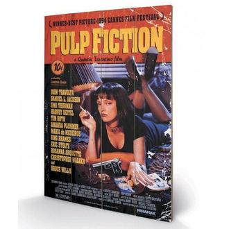Drvena slika Pulp Fiction - (&&string0&&) - PYRAMID POSTERS, PYRAMID POSTERS