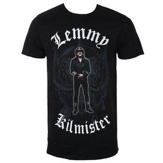 Muška majica Lemmy Kilmister - Memorial Statue - Crna - ROCK OFF, ROCK OFF, Motörhead