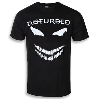 Muška metal majicaa Disturbed - Scary Face - ROCK OFF, ROCK OFF, Disturbed