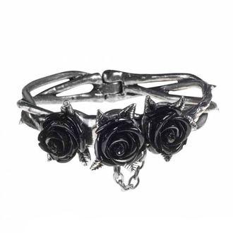 Narukvica ALCHEMY GOTHIC - Wild Black Rose, ALCHEMY GOTHIC
