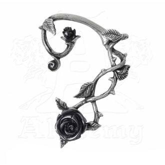 Naušnice ALCHEMY GOTHIC - Black Rose Earwrap, ALCHEMY GOTHIC