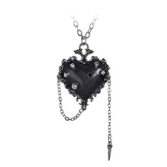 Ogrlica s privjeskom ALCHEMY GOTHIC - Witches Heart, ALCHEMY GOTHIC