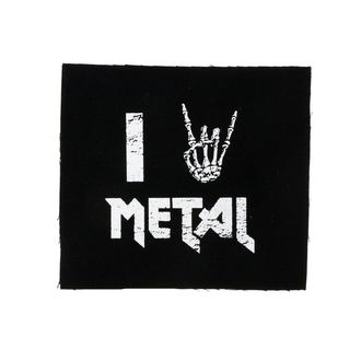 Zakrpa I love metal