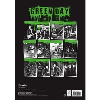 Kalendar za 2019. - AC / DC - GREEN DAY, Green Day