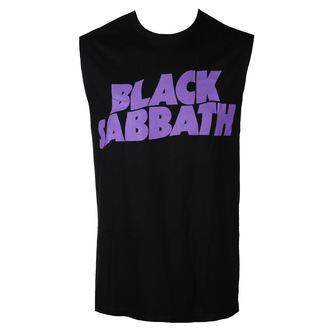 Muška majica Top BLACK SABBATH - PURPLE LGO - BRAVADO, BRAVADO, Black Sabbath