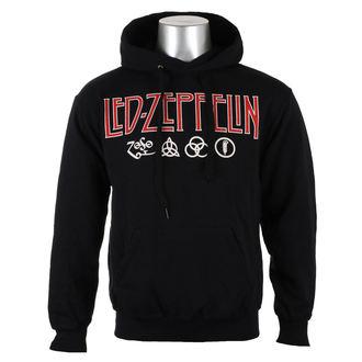 Majica s kapuljačom muška Led Zeppelin - LOGO & SYMBOLS - PLASTIC HEAD, PLASTIC HEAD, Led Zeppelin