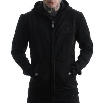 Muška majica s kapuljačom - CRNA 2 CRNA - HYRAW, HYRAW