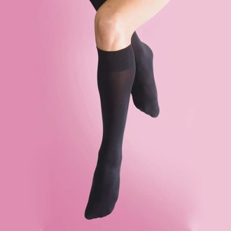 Čarape do koljena LEGWEAR - 70 denier opaque knee high 1pp - black, LEGWEAR