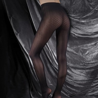Najlonke LEGWEAR - couture ultimates -  the chaterine - crno, LEGWEAR