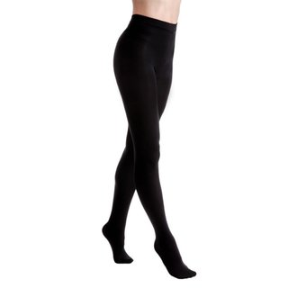 Najlonke LEGWEAR - Fashion velvet fleece lined - Black, LEGWEAR