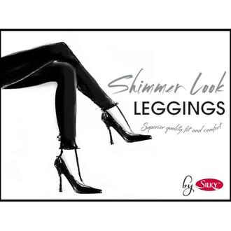 Ženska hlače (tajice) LEGWEAR - Shimmer look - Black, LEGWEAR